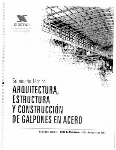 Documento galpones modulares for Construccion de galpones