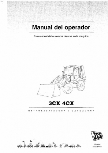 Documento Manual de usuario JCB 3CX 4CX - grupos.emagister.com