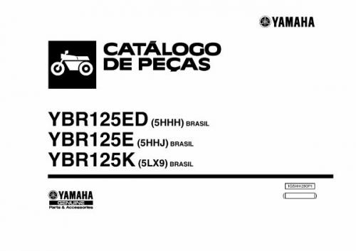 dato tecnico yamaha ybr 125: