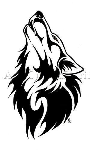 native american tattoo designs on De Foro Photoshop Gt Ambereye Wolf Tattoo Commish By Wildspiritwolf