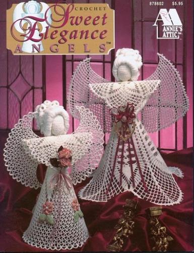 Imagen angeles elegantes para navidad - Angeles de navidad manualidades ...