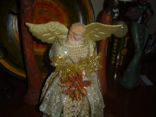 Manualidades con angeles imagui - Angeles de navidad manualidades ...