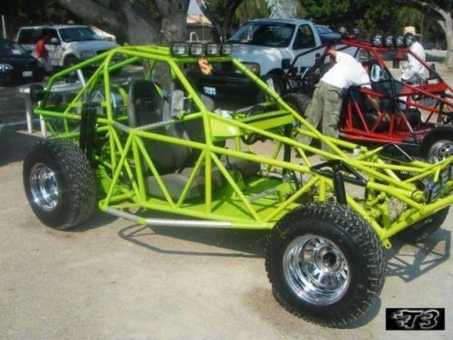 de Grupo de buggy, buggie y areneros tubulares > Arenero tubular verde