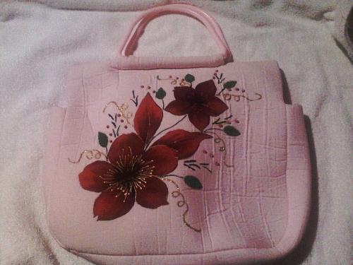 Imagen bolsa con tela bondeada - Bolsas de tela manualidades ...