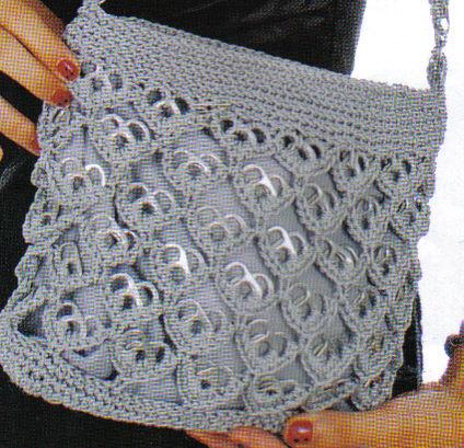 Imagen bolsa tejida con fichas corazon invertido - grupos.emagister ...