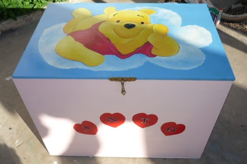 Imagen caja guarda juguetes for Mueble guarda juguetes