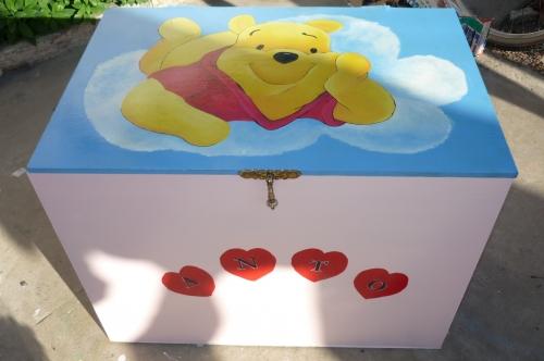 Imagen caja guarda juguetes - Guarda juguetes madera ...