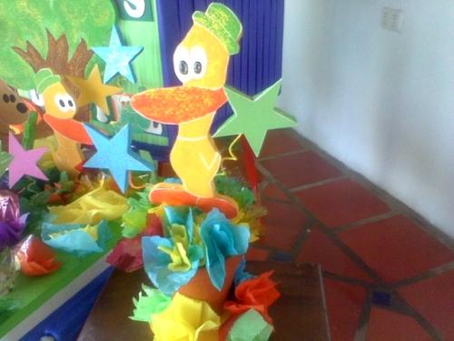 Centros de mesa de Pocoyo gratis - Imagui