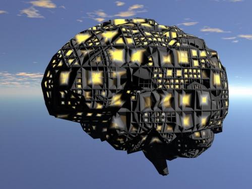 Cerebro Humano futurista