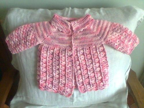 Chaleco para niña a crochet - Imagui