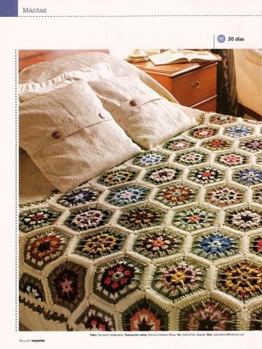 Colchas De Tejidos a Crochet