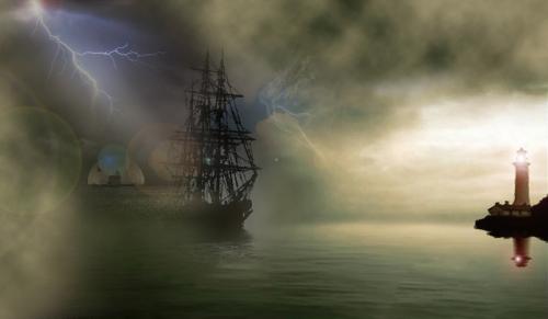 El barco fantasma, El Caleuche