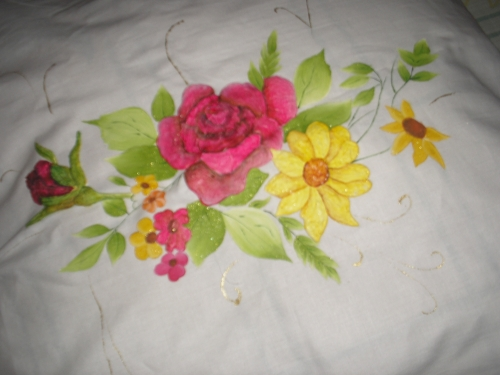 Flores alto relieve