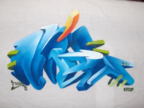 abecedario graffitis le graffitis 3d a lapiz abecedario graffitis ...