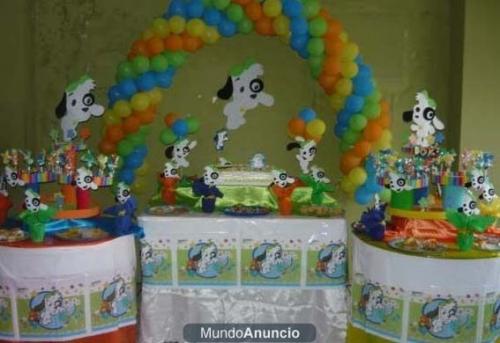 Imagen Ideas para decoración fiesta: DOKI discovery kids - grupos ...
