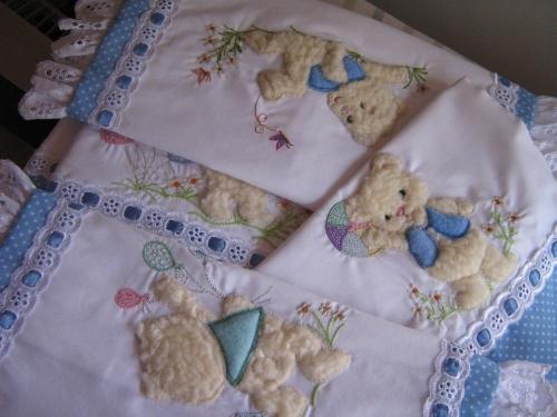 Bordados para sabanas de bebés - Imagui