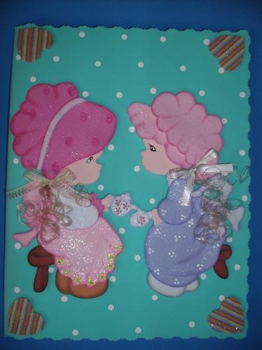 libreta decorada en foami con fofucha plana cupcakes limon chocolate y