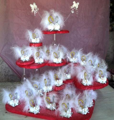 Decoración con cisnes para 15 años - Imagui