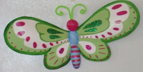 Como hacer una mariposa en foami paso a paso - Imagui