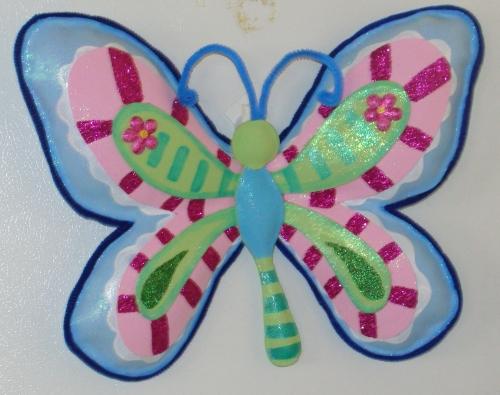 Mariposas hechas de foami - Imagui