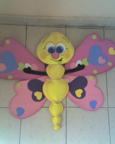 mariposa goma eva pic 13