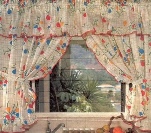 Modelo de cortina de cocina imagui for Modelos de cortinas de cocina