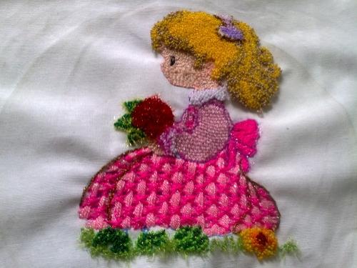 Imagen muñeca tierna - grupos.