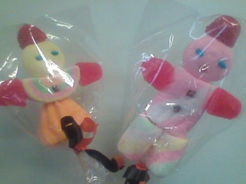 Muñecos de masmelos - Imagui
