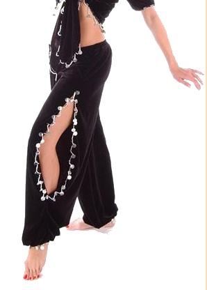 Belly dance pants pattern