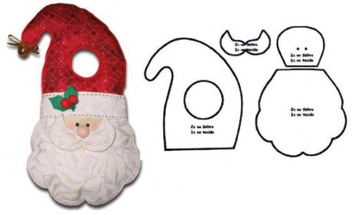 ... de Grupo de Decoración navideña > Santa Claus pica