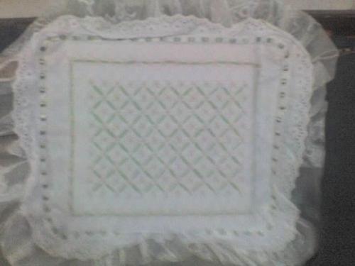 Sarapito bordado con Punto Espa�ol