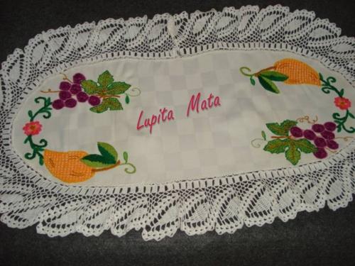 web tejido bordado: