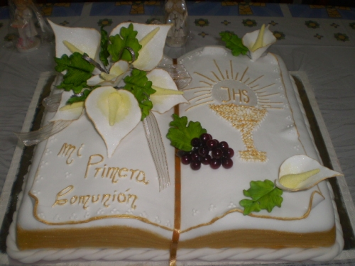 Imagen Torta Forma Biblia Gruposemagister