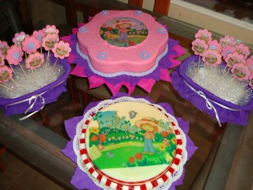 Tortas de fresita princesa - Imagui