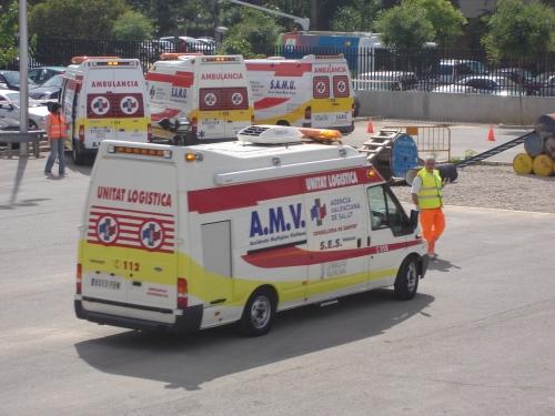 Vehiculo AMV (SES Valencia) 1