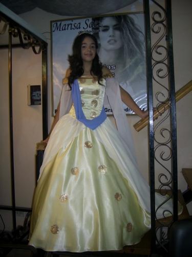 """Vestido de 15 A�os """"Princesa Anastasia de Disney"""""""