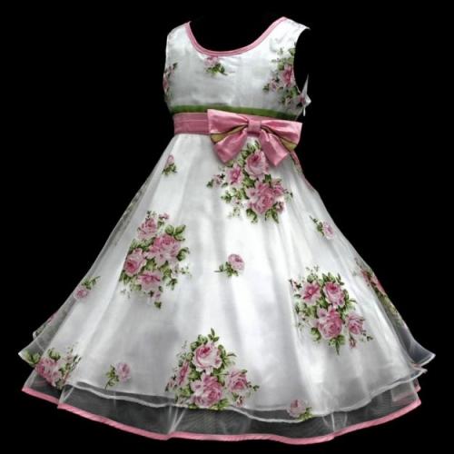 Imagen vestido de niña para paje - grupos.