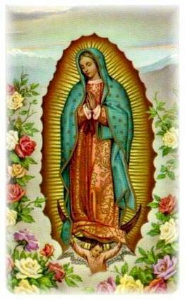 GRACIAS!!!! NUESTRA SEORA DE GUADALUPE